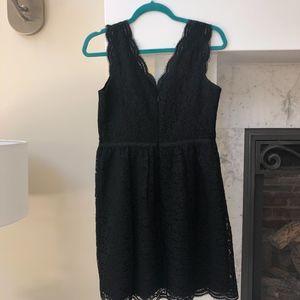Ann Taylor Loft lace dress petite